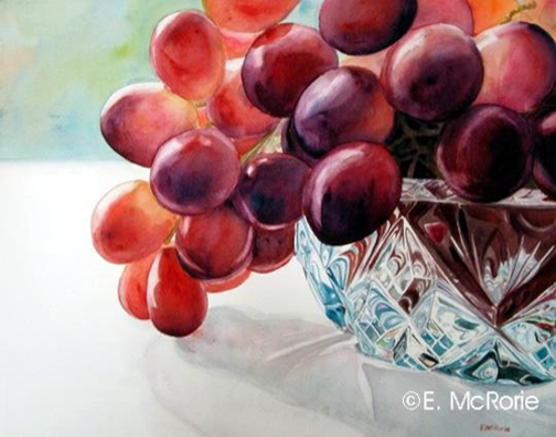 Grapes and Crystal