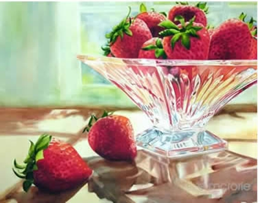 Strawberries & Crystal